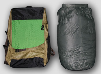 Ultralight waterproof backpack mk. III